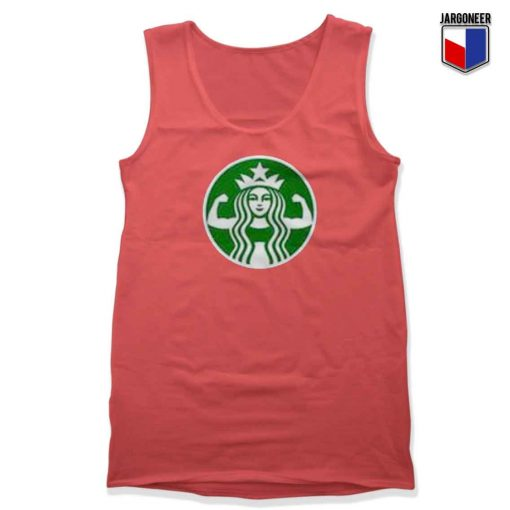 Starbuff Strong Starbucks Unisex Adult Tank Top Design