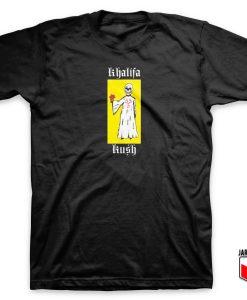Wiz Khalifa Reaper Flower T Shirt