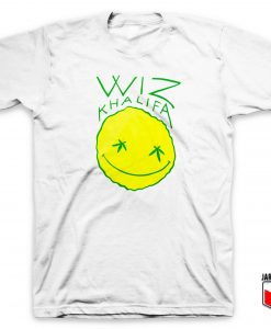 Wiz Khalifa Smiley T Shirt