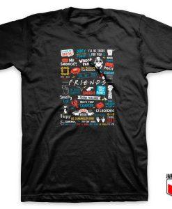 F.R.I.E.N.D.S Doodle T Shirt