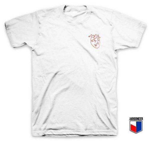 Heart Red T Shirt