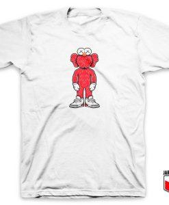 Kaws X Elmo Parody T Shirt