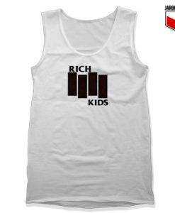 Rich Kids Black Flag Unisex Adult Tank Top Design