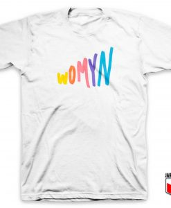 Womyn Colorful T Shirt