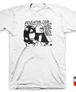 Adventure Time Sonic Youth Parody T Shirt