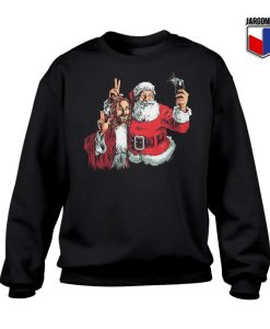 All About Jesus And Santa Crewneck Sweatshirt