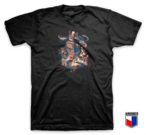 Chaos Night In Toy City T Shirt