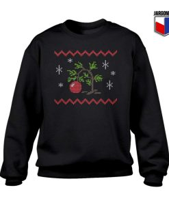 Charlie Brown Christmas Tree Crewneck Sweatshirt