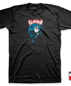 Friday Killer 13 Slasher Parody T Shirt