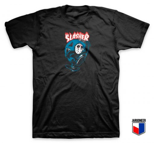 Friday Killer 13 Slasher Parody T Shirt