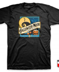 Halloween Moon Town Parody T Shirt