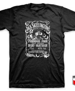 Jack Skellington Special Halloween Parody T Shirt