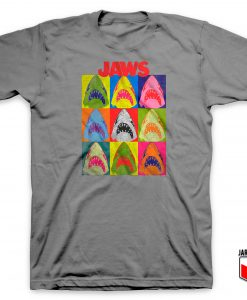 Jaws Pop Art T Shirt