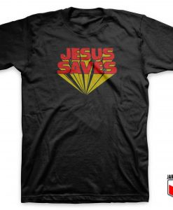 Jesus Saves Logo T Shirt