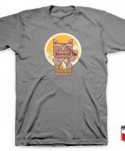 Kitty Meowy Tiki T Shirt