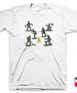Make Fun Not War Soldier Toy T Shirt