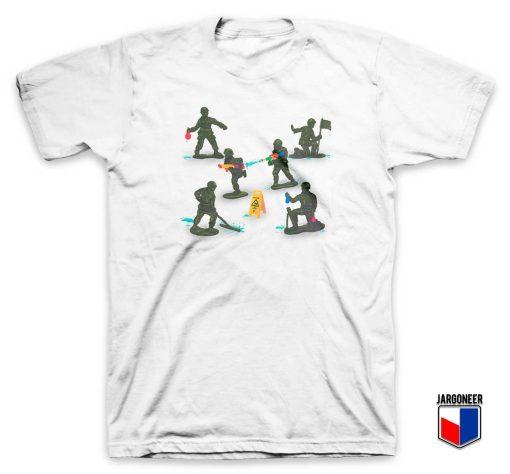 Make Fun Not War Soldier Toy T Shirt