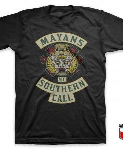 Cool Mayans MC Patch T Shirt Design - Cool Custom Shirt Designs For Womens Or Mens | jargoneer.com