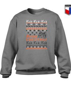 Meowy Christmas Crewneck Sweatshirt