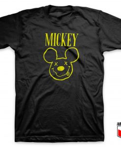 Mickey Nirvana Parody T Shirt