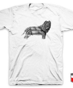 Molossus Dog American Pride T Shirt