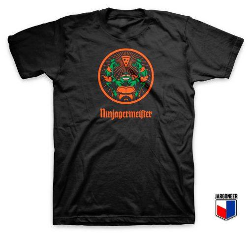 Mutant Ninjagermeister Parody T Shirt