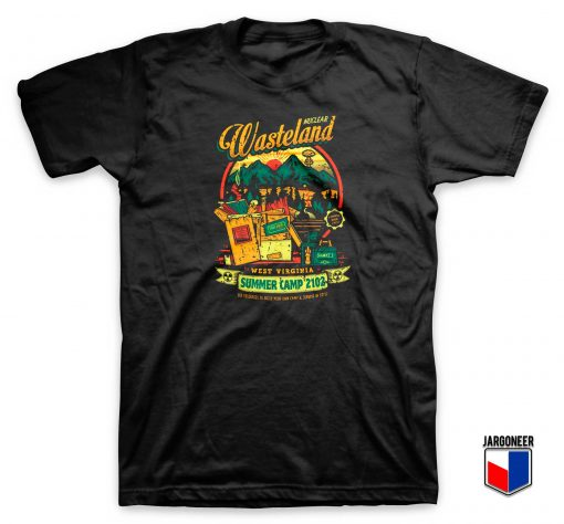 Nuclear Wasteland Summer Camp T Shirt
