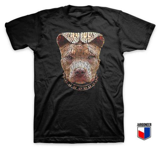 Pitt Bull Typography T Shirt