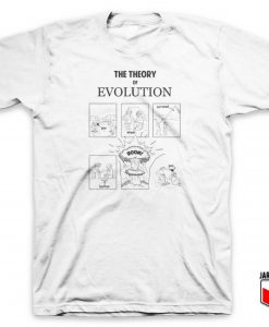 The Theory Evolution T Shirt
