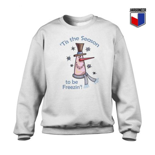 This Season To Be Freeze Crewneck Sweatshirt