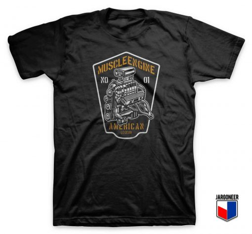 American Muscle Engine T Shirt