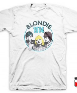 Blondie Line Up 1974 T Shirt