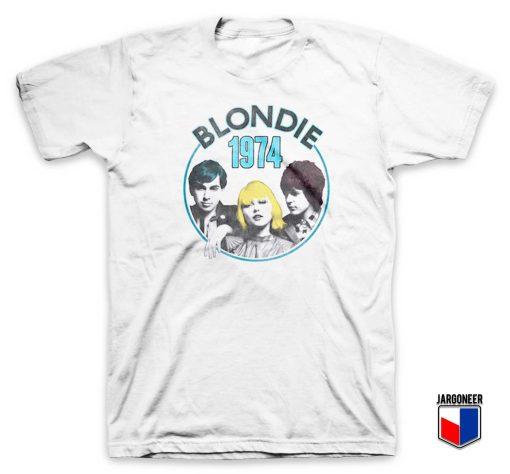 Blondie Line Up 1974 T Shirt