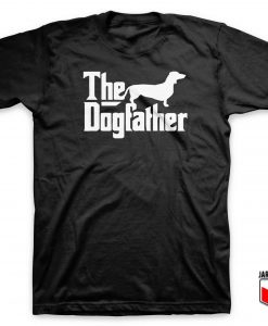 Dachsund The Dogfather T Shirt