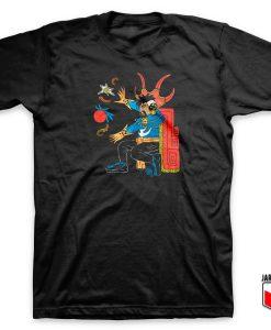 Doctor Strange Aztec Parody T Shirt
