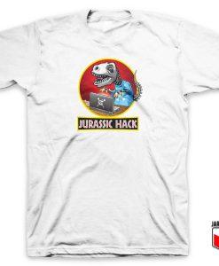 Jurassic Hack Parody T Shirt