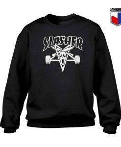 Slasher Thrasher Parody Crewneck Sweatshirt