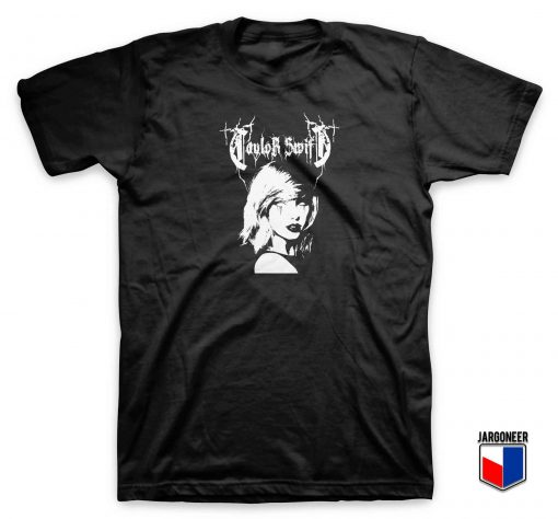 Taylor Swift Metal Style T Shirt