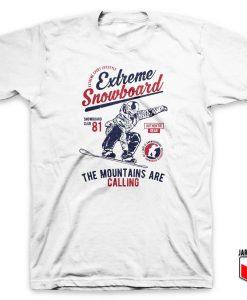Vintage Extreme Snowboard T Shirt