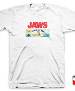 Jaws Amity Island Billboard T Shirt