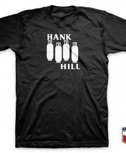 King Of The Hill Black Flag Parody T Shirt