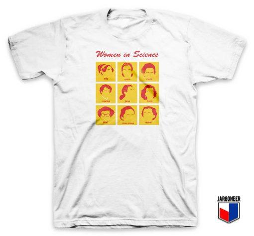Women in Science T Shirt