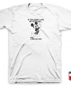 1-800 Eat Shit Mickey T Shirt