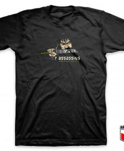 7 Assassins Samurai T Shirt