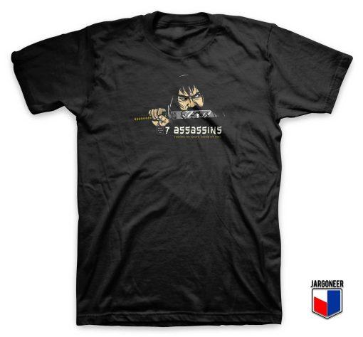7 Assassins Samurai T Shirt