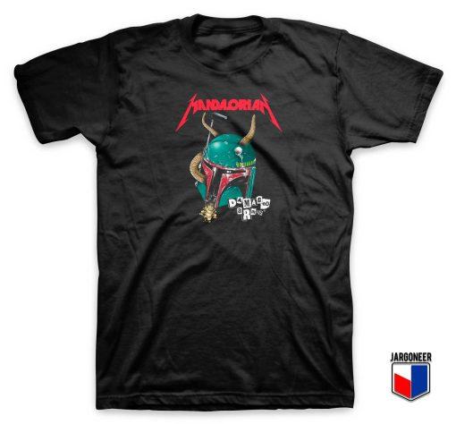 Bobba Mandalorian Damage Armor T Shirt