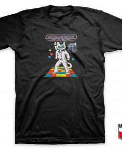 Caturday Night Fever T Shirt