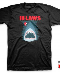 Christmas In Laws Jaws Parody T Shirt