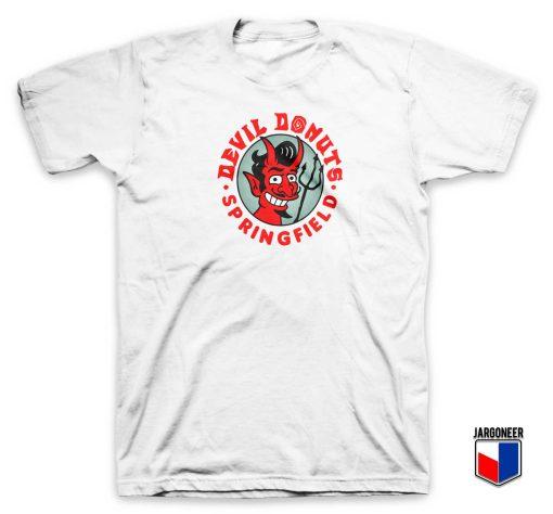 Devil Donut Springfield T Shirt