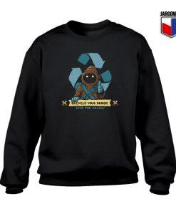 Droids Save The Galaxy Crewneck Sweatshirt